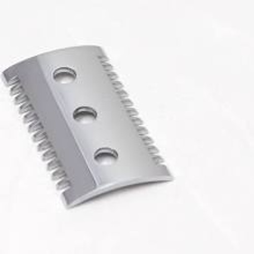 Merkur - Razor Part - Comb, Open Tooth, Pol Chrome, Sm Hole (fits razor models: 15/25/41/985)