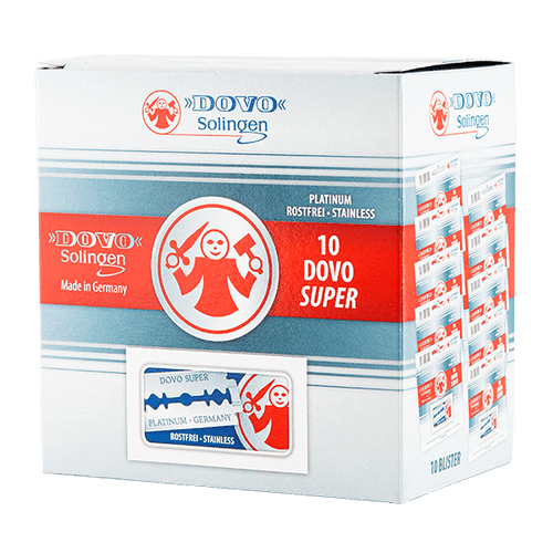 Dovo Super Platinum Razor Blades (German), 100 Box