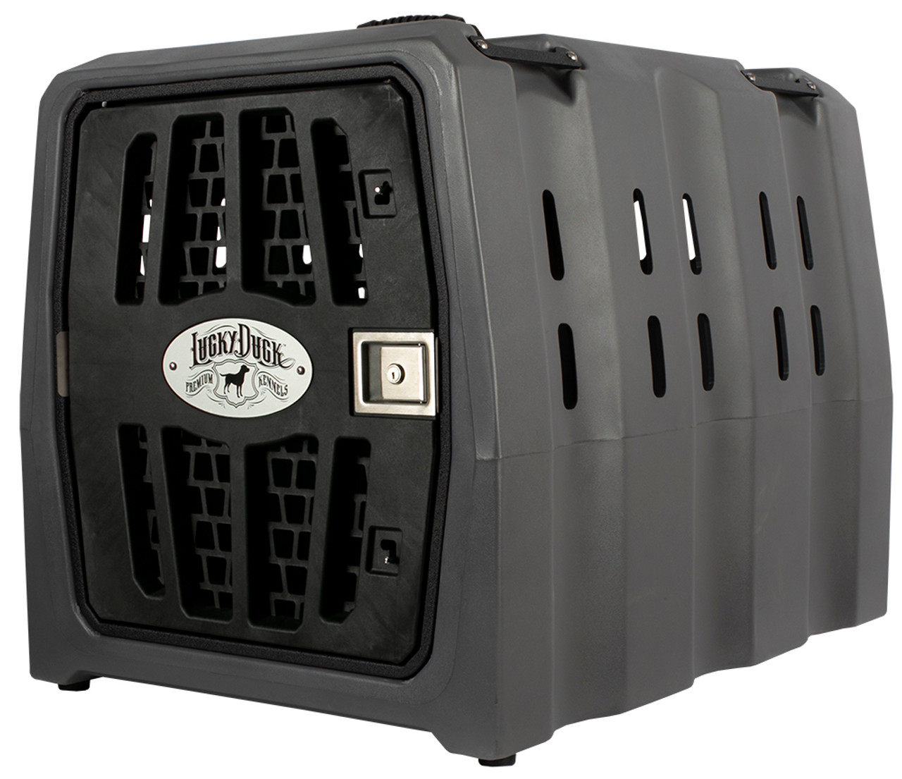 Lucky Duck Kennel will keep your retriever safe during travel