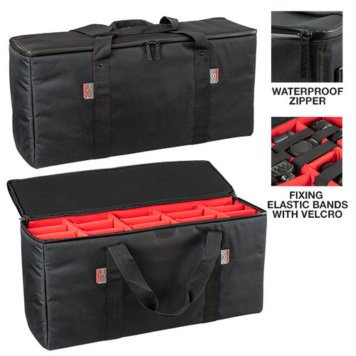 BAG-P PADDED BAG WITH ADJUSTABLE DIVIDERS for 7641