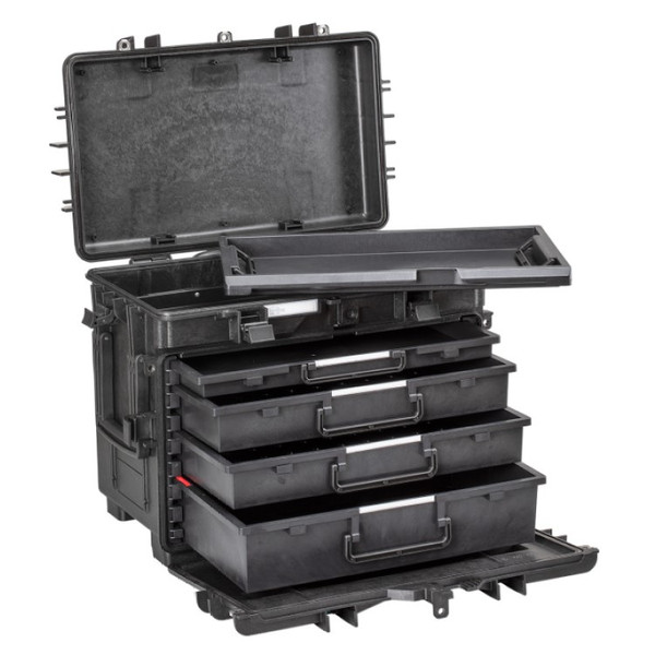 AI1.B.4L EXPLORER All In One Tool Box 4 Empty 60mm Drawers