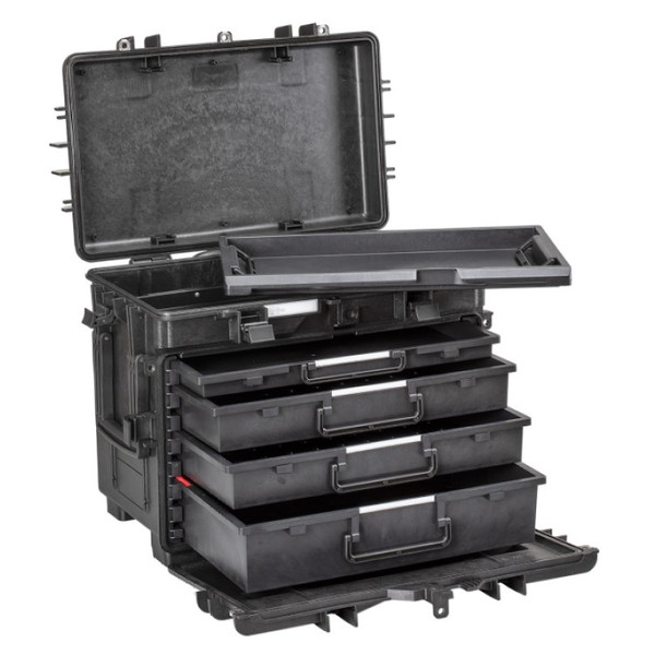 AI1.KT02 EXPLORER All In One Tool Box 4 Empty Drawers