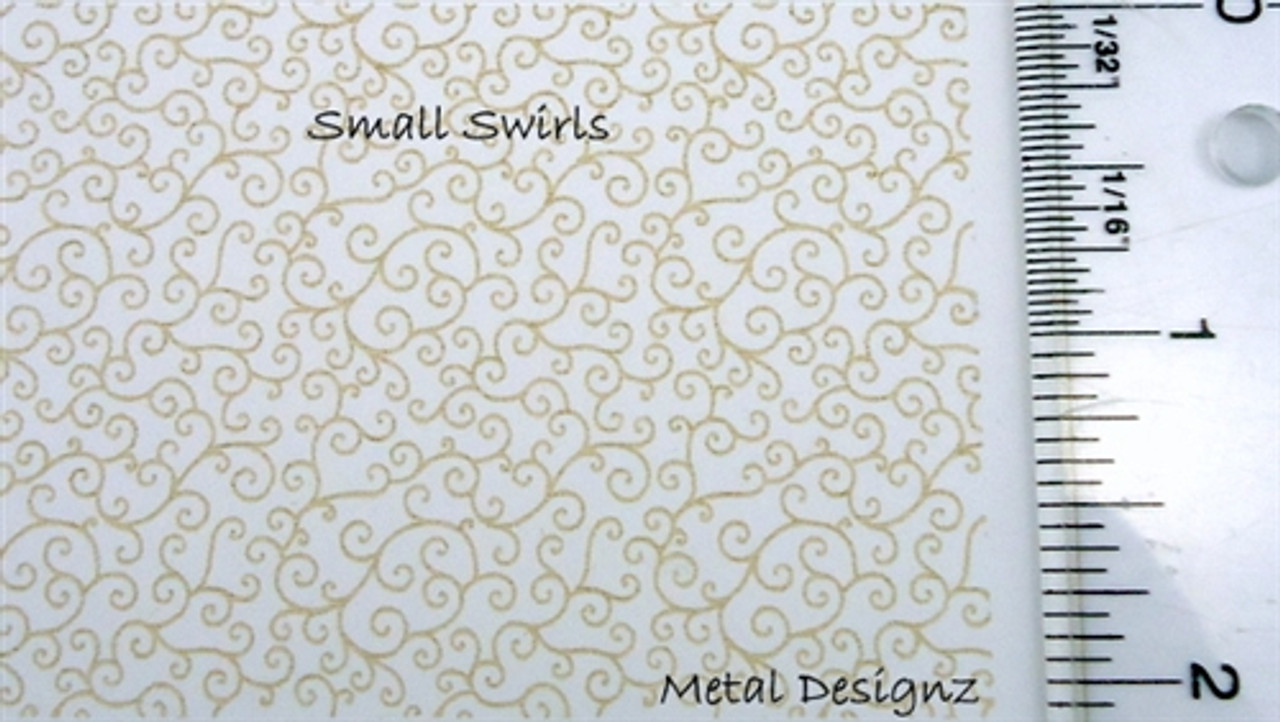 Rolling Mill Pattern Fossils Laser Cut Texture Paper