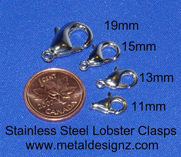 Stainless Steel Clasp 13mm