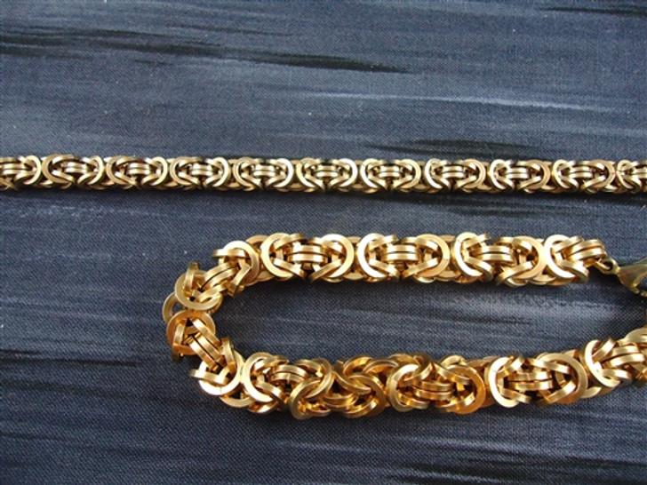 Square Byzantine Bracelet