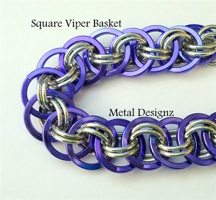 Square Viper Basket Bracelet Kits