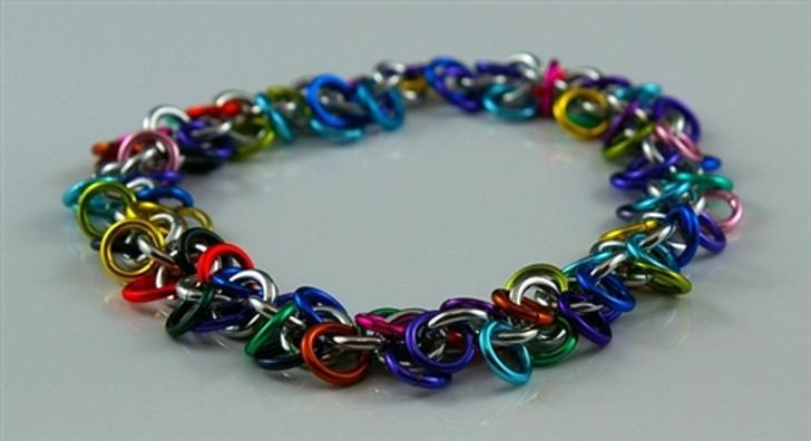Shaggy Loops Bracelet Kit - Metal Designz Original Pattern