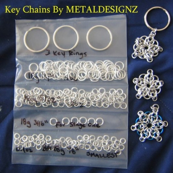 Celtic Star Keychain Kit with Colour