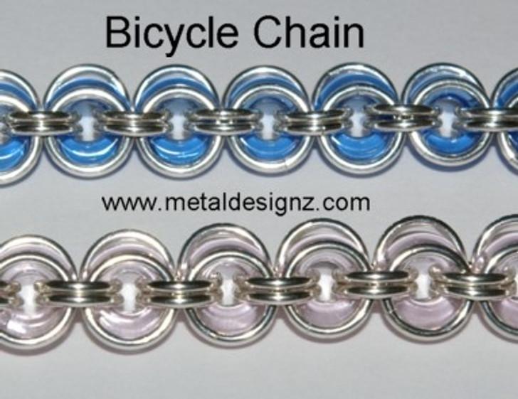 Bicycle Chain Sterling Bracelet Kit
