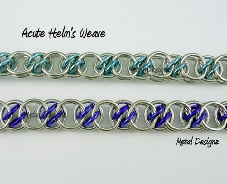 Acute Helm's Weave Bracelet kit