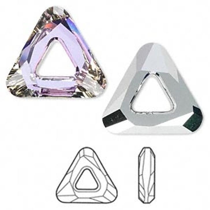 Triangle Swarovski Crystal
