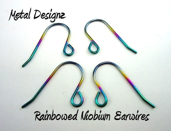 Anodized Niobium Ear Wires -- Stunning Colours