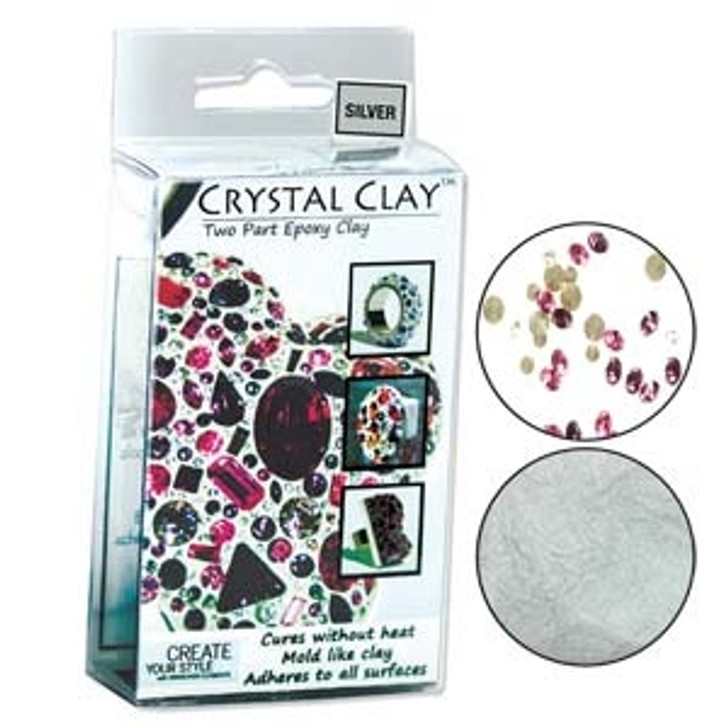 CRYSTAL CLAY SILVER 50 GRAM PACK