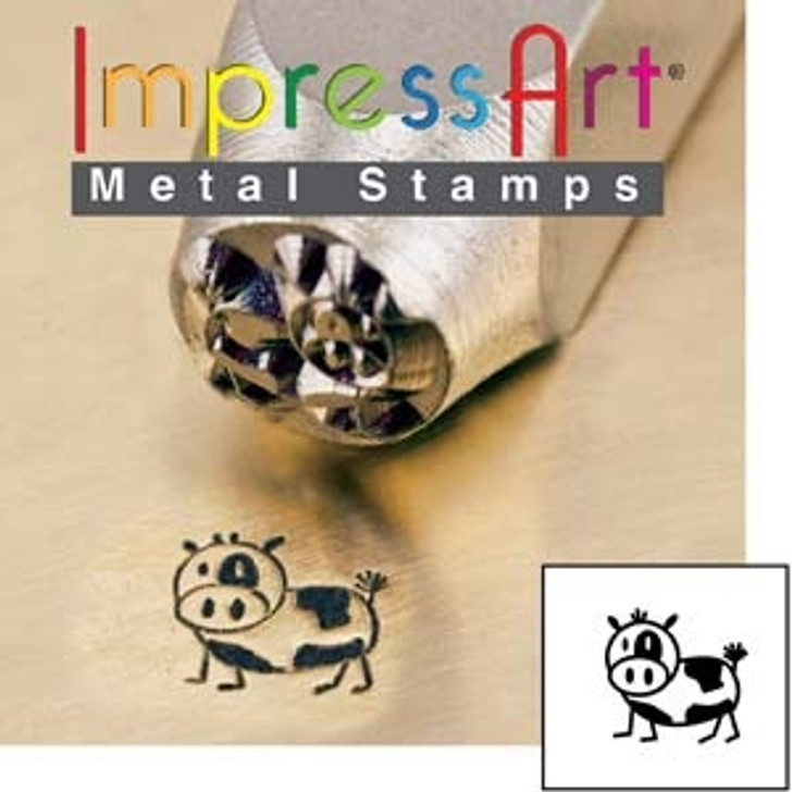 Moo 6mm ImpressArt Metal Design Stamp