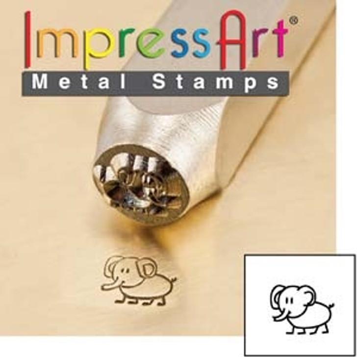 Ellie 6mm ImpressArt Metal Design Stamp