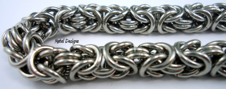 Stainless Steel Byzantine Bracelet Kit
