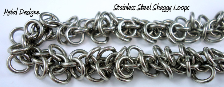 Stainless Steel Shaggy Loops Bracelet Kit