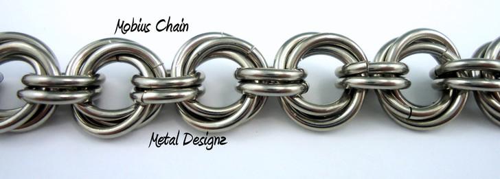 Stainless Steel Mobius Bracelet Kit