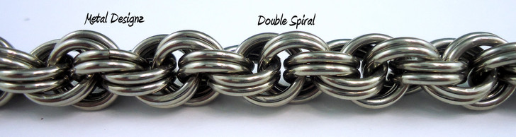 Stainless Steel Double Spiral Bracelet Kit