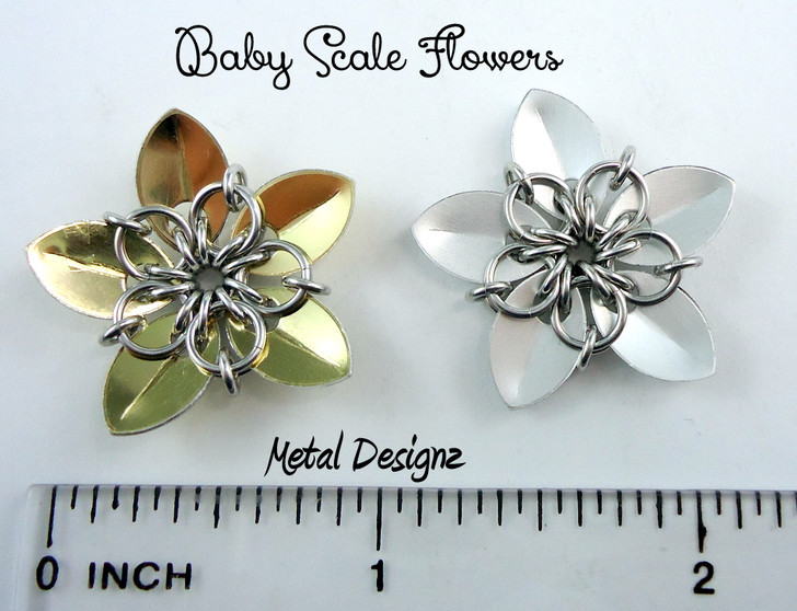 Baby Sized Scale Flower Kit - Makes Multiple Flowers!