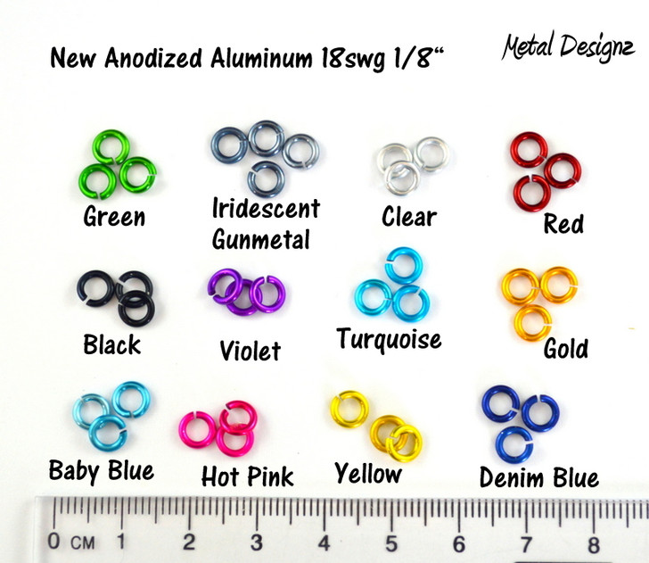 """Anodized Aluminum - 18 SWG 1/8"""" - Shop Canadian prices"""