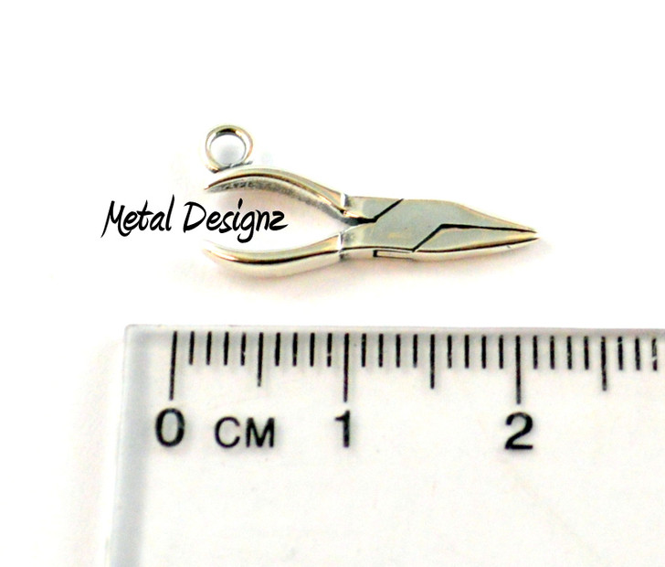 Sterling Silver Charm - Pliers - Chain nose