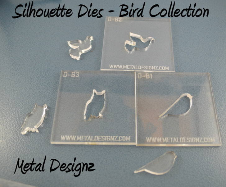 Silhouette Dies - Bird Collection - 3 dies