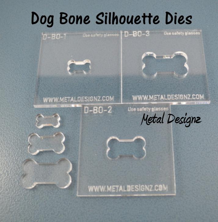 Silhouette Dies - Dog Bone Collection - 3 dies