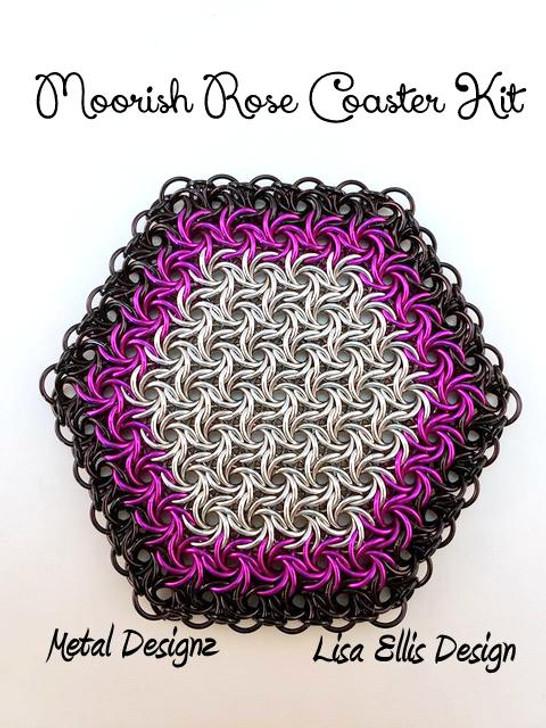 Moorish Rose Coaster Kit - No Tutorial - To accompany Lisa Ellis's Video Tutorial
