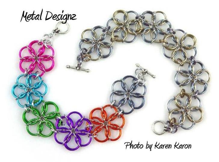 Borealis Bracelet Kit - Karen Karon - Kit Only - No Tutorial Included