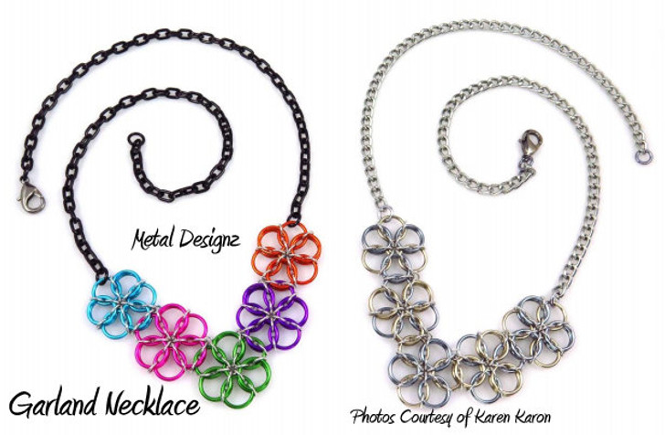 Borealis Garland Necklace Kit - Karen Karon - Kit Only - No Tutorial Included