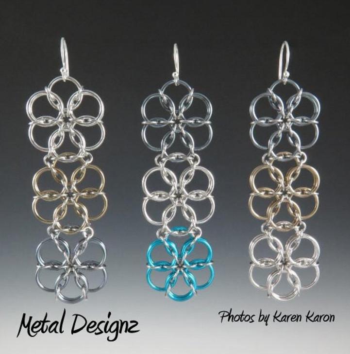 Borealis Long Earring Kit - Karen Karon - Kit Only - No Tutorial Included