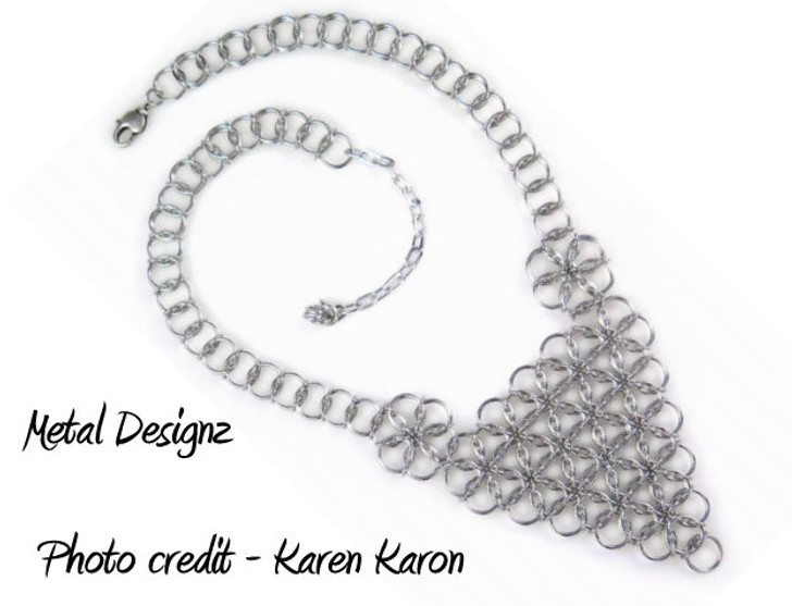Borealis Bib Necklace Kit - Karen Karon - Kit Only - No Tutorial Included