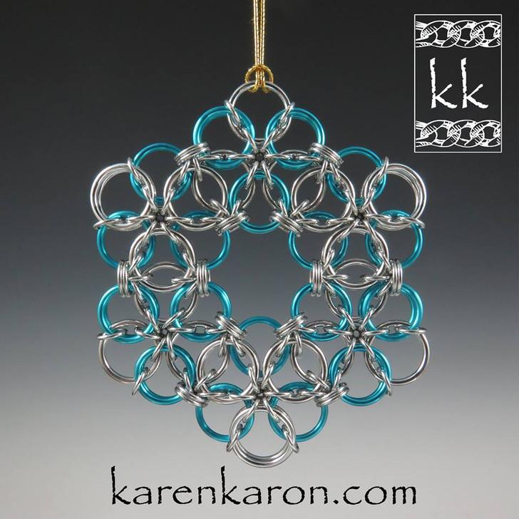 Borealis Snowflake Kit - Karen Karon - Kit Only - No Tutorial Included