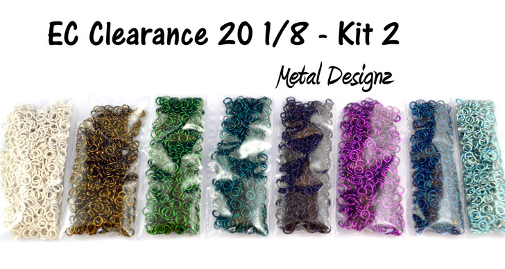 Enamelled Copper Clearance Kits  - $32 for half a POUND of rings! #2