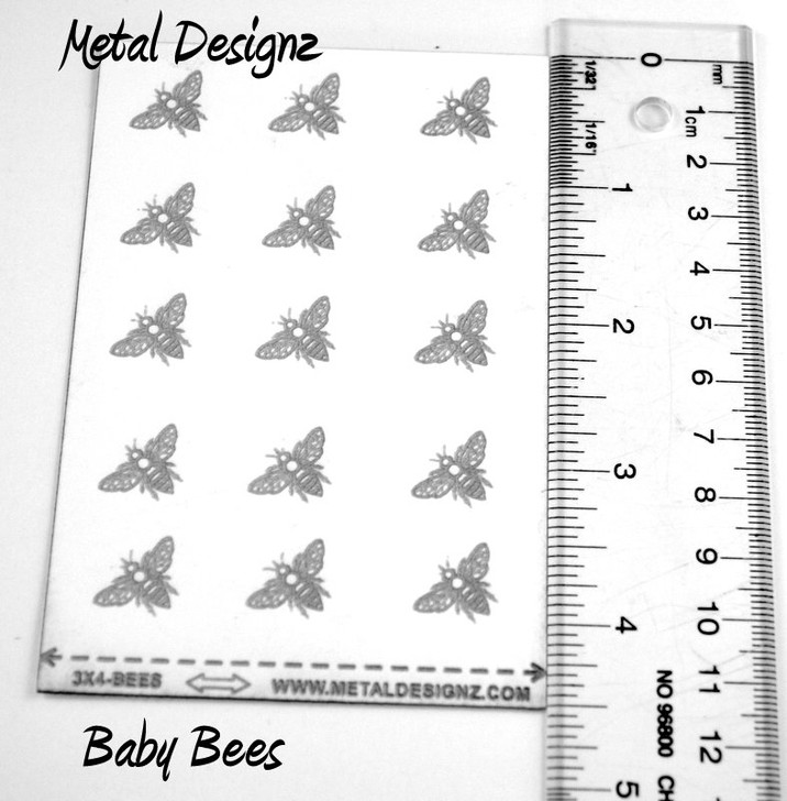 Laser Cut Texture Paper -Baby Bees