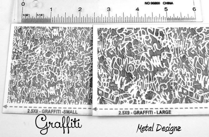 Laser Cut Texture Paper -Graffiti