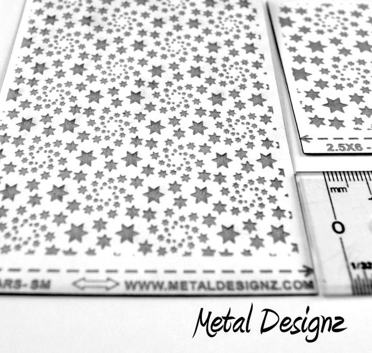 Laser Cut Texture Paper -Stars