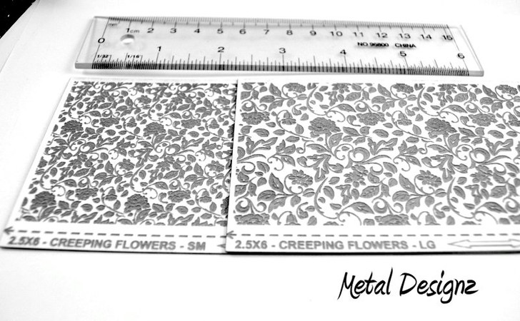 Laser Cut Texture Paper -Creeping Flowers