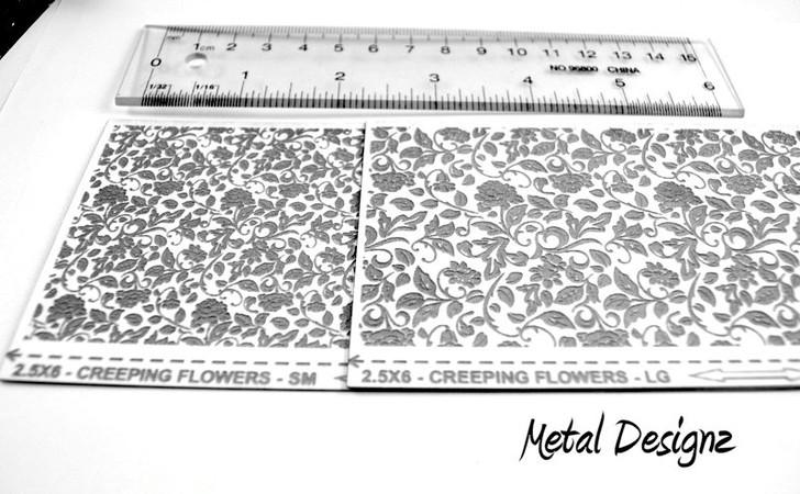 Laser Cut Texture Paper -Creeping Flowers
