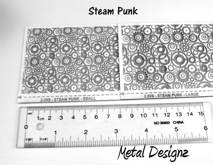 Laser Cut Texture Paper -Steam Punk