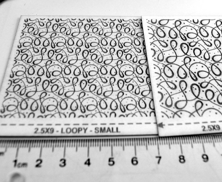 Laser Cut Texture Paper - Loopy