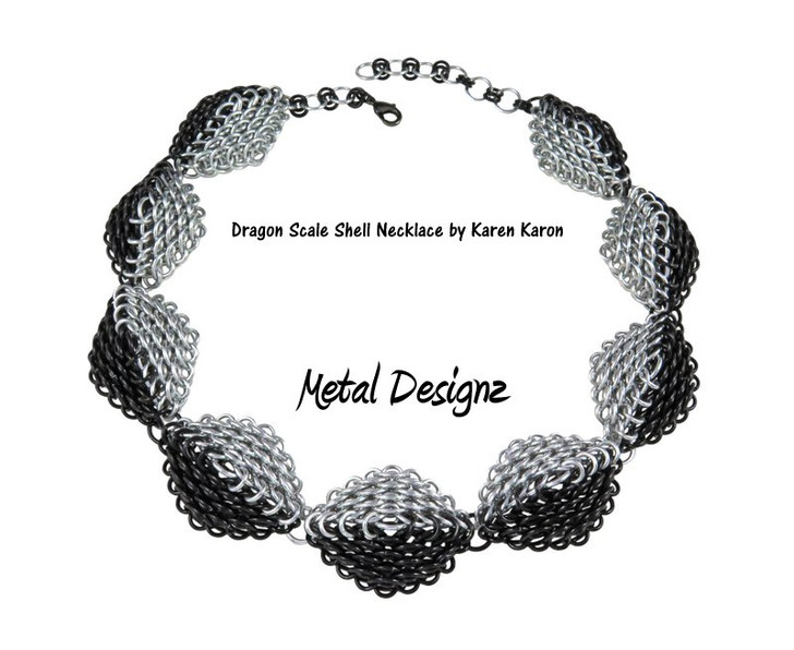Dragonscale Shell Necklace Kit - Karen Karon - Kit Only - No Tutorial Included