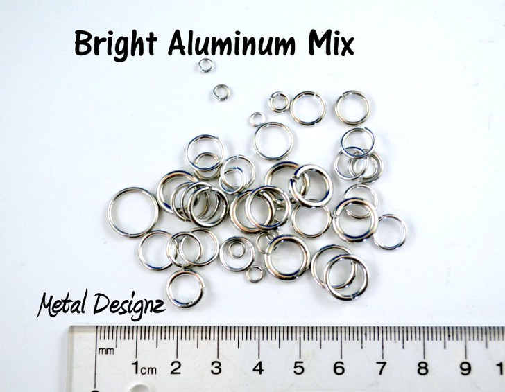 Bright Aluminum Mix - Sold by the Ounce - Limited Quantities