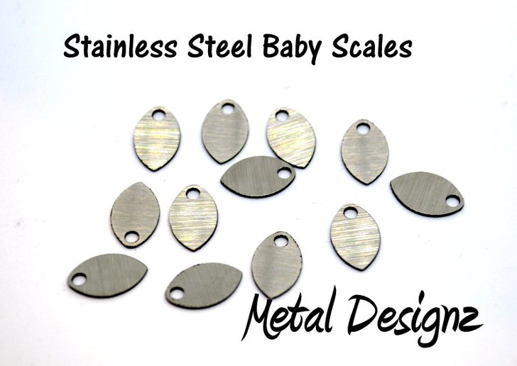 Stainless Steel Baby Scales - Laser Cut - New design