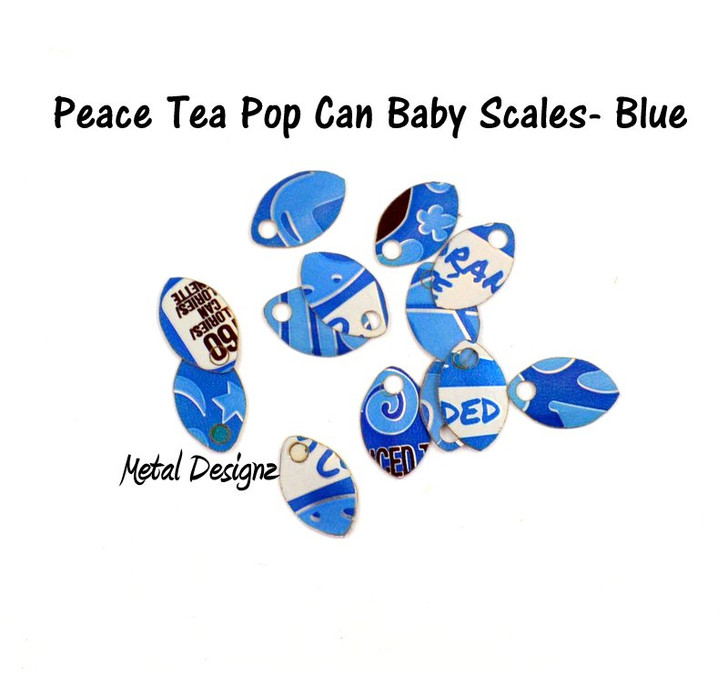 Pop Can Baby Scales - Bag of 50 - Peace Tea - Various colours!