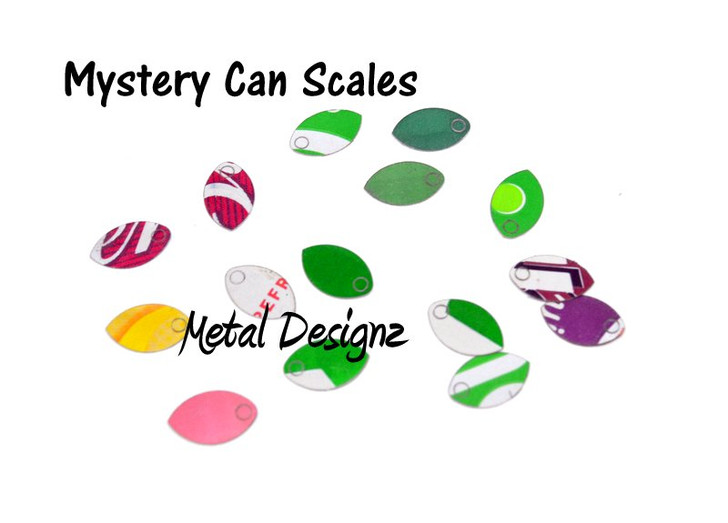 Pop Can Baby Scales - Bag of 50 - Mystery Cans- Limited Quantities