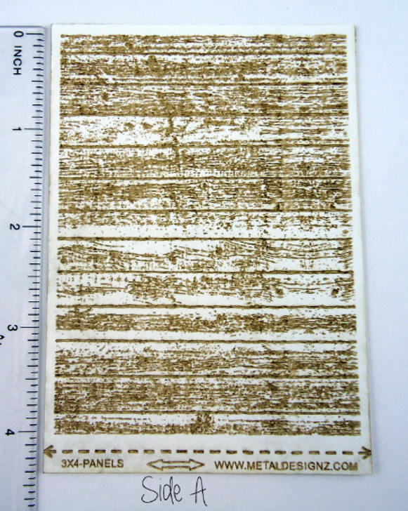 Laser Cut Texture Paper - Fence Boards