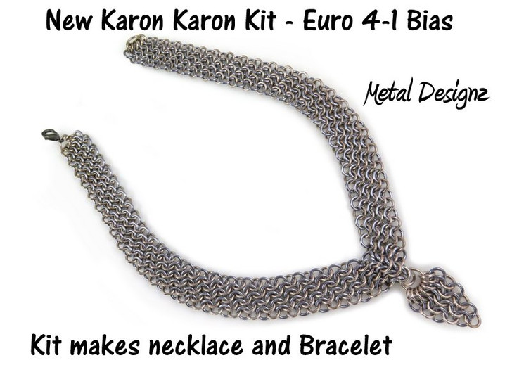 Bias European 4-in-1 Necklace and Bracelet - Karen Karon - Kit Only - No Tutorial Included