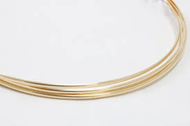 Gold Fill Wire - 22g - 5 feet length